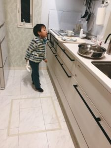 お手伝い 皿洗い 子育て 3歳 4歳 幼稚園 男の子 整理 収納