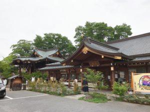 行田 八幡神社 お参り かんしゃく